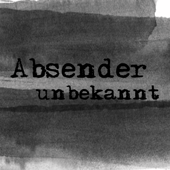 Absender unbekannt