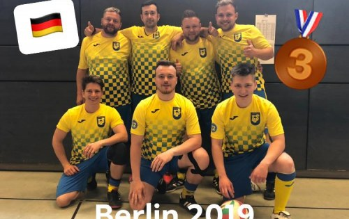 Fußballtennis Team erfolgreich