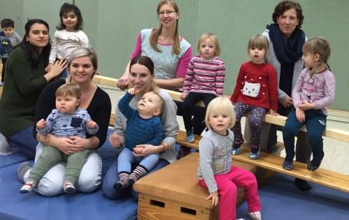 Neue Angebote Eltern Kind Turnen
